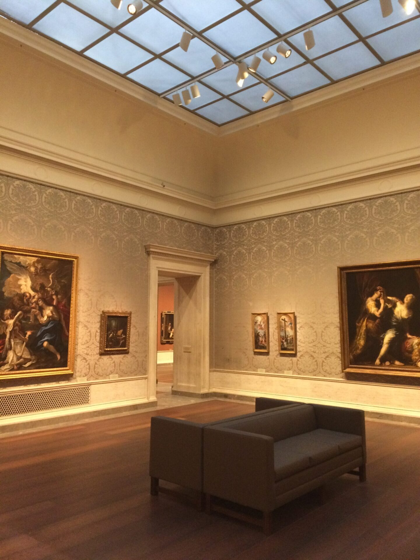 ナショナルギャラリーの展示室一例