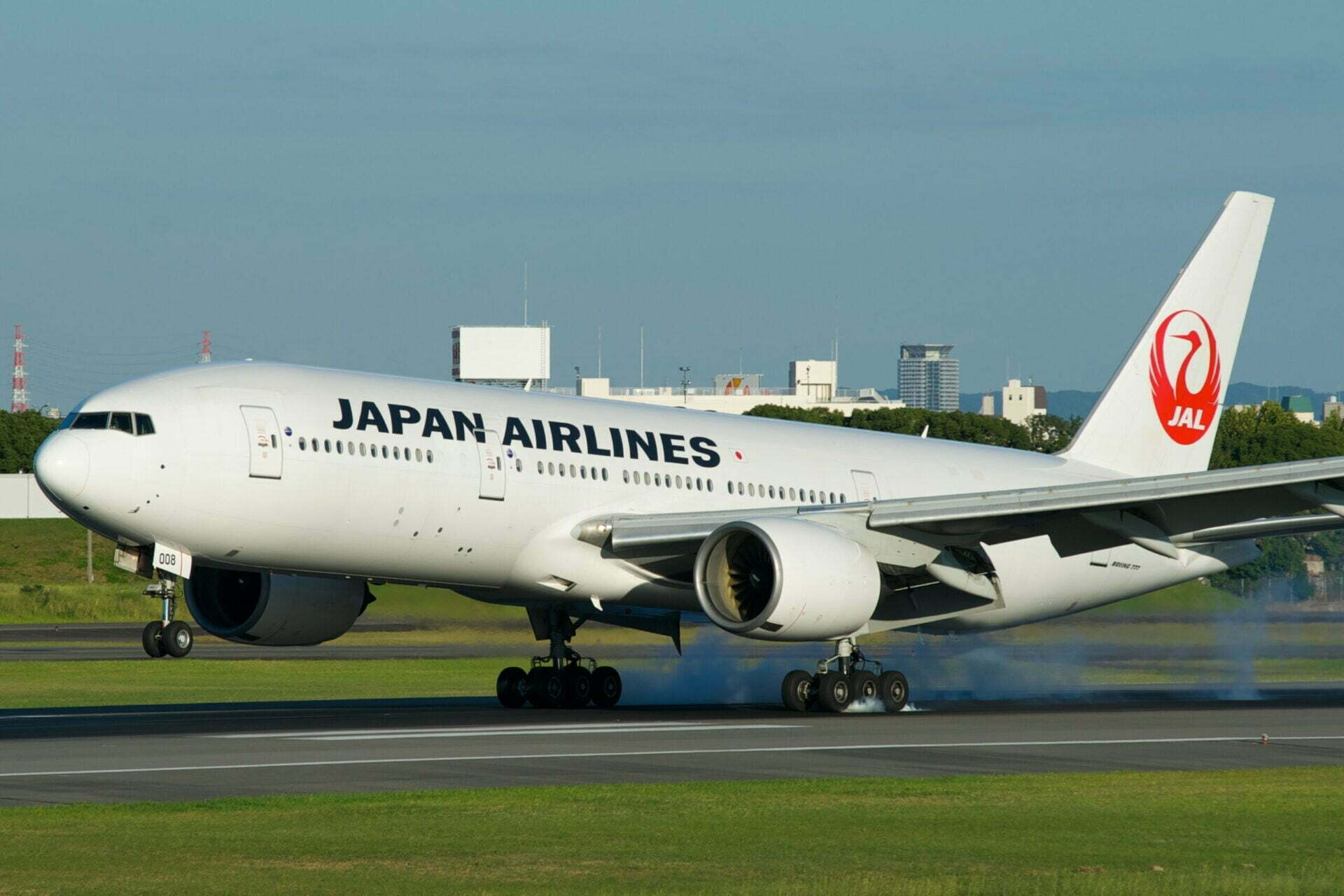 JAL ボーイング777